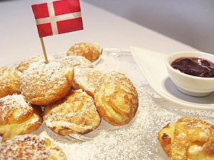 Æbleskiver | Dänische Apfelbällchen