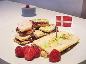 Dänische Himbeerschnitten