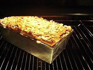 Dänischer Honigkuchen im Ofen