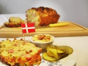 Hot Dog Brot Dänischer Art