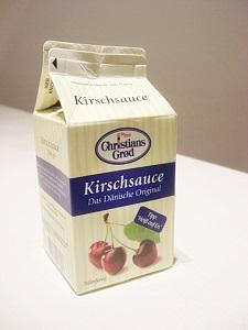 Original dänische Kirschsoße