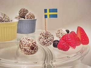 Schwedische Chokladbollar