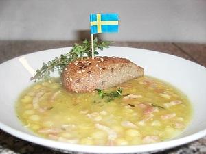 schwedische Erbsensuppe