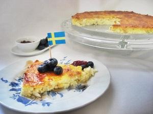 schwedischer Käsekuchen