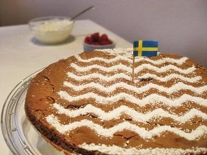 Schwedischer Schokoladenkuchen (Kladdkaka)