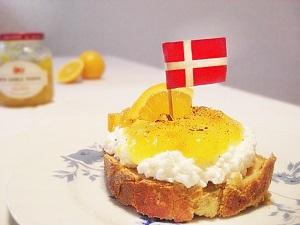 Feurig-süßes Wikinger-Smørrebrød mit Orangenmarmelade